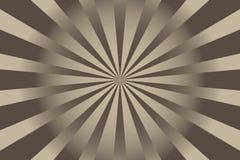 Abstracte Zonnestraal Vectorillustratie Als achtergrond vector illustratie