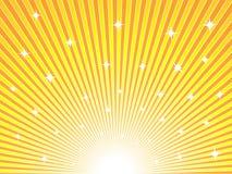 Abstracte zonnige achtergrond Stock Afbeelding