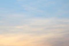 Abstracte zonsondergang Stock Foto