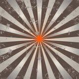 Abstracte zonstralen stock illustratie