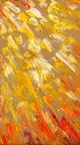 abstracte zonstralen Landschap met rivier en bos Royalty-vrije Stock Afbeelding