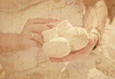 Abstracte zwangerschapsachtergrond royalty-vrije stock afbeelding