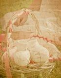 Abstracte zwangerschapsachtergrond Stock Afbeeldingen