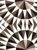 Abstracte zwart-wit Royalty-vrije Stock Afbeelding