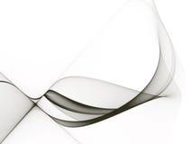 Abstracte zwart-wit achtergrond Royalty-vrije Stock Afbeeldingen