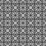 Abstracte zwart-wit eindeloze spiegelende textuur Stock Foto
