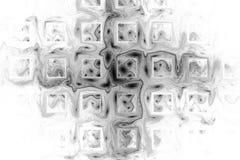 Abstracte zwart-wit geometrische grungeachtergrond Stock Afbeeldingen