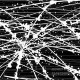 Abstracte zwart-witte grungeachtergrond Royalty-vrije Stock Afbeelding
