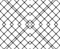 Abstracte zwart-witte links Royalty-vrije Stock Fotografie