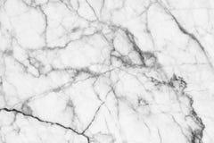 Abstracte zwart-witte marmer gevormde (natuurlijke patronen) textuurachtergrond Stock Afbeelding