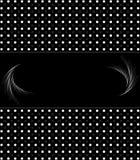 Abstracte zwart-witte uitstekende retro achtergrond Stock Afbeelding