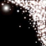 Abstracte zwart-witte vectorachtergrond met Stock Afbeeldingen