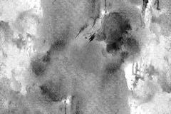 Abstracte zwarte achtergrond De donkere achtergrond van de grungetextuur Stock Fotografie