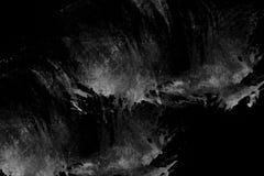 Abstracte zwarte achtergrond De donkere achtergrond van de grungetextuur Royalty-vrije Stock Foto's