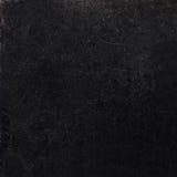 Abstracte zwarte achtergrond met krassen. Uitstekende grungebackgro Stock Afbeelding