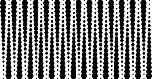 Abstracte zwarte textuur als achtergrond Halftone effect Stock Foto's