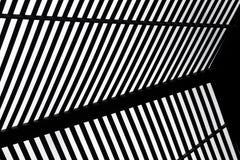 Abstracte zwarte & witte achtergrond Stock Foto's