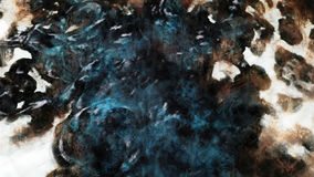 Abstracted Smudge Grunge Art Stock Photography