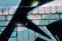 Abstracted tekstury tło w Mieszanej kiści farbie Obraz Stock