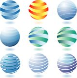 Abstractglobes Stock Images