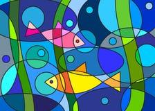 Abstractie stock illustratie