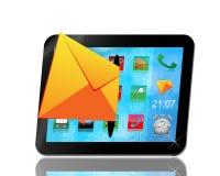 De tablet van de envelop andl Royalty-vrije Stock Foto
