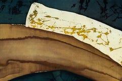 Abstractie, fragment, hete batik, achtergrondtextuur royalty-vrije stock foto's