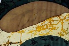 Abstractie, fragment, hete batik, achtergrondtextuur royalty-vrije stock afbeeldingen