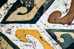 Abstractie, fragment, hete batik, achtergrondtextuur stock foto