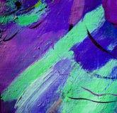 Abstractie, illustratie, het schilderen vector illustratie