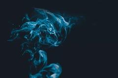 Abstractie met rook Royalty-vrije Stock Afbeeldingen