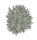 Abstractie op een thema van flora Royalty-vrije Stock Foto