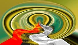 Abstractie Samenvatting Het schilderen beeld Textuur geweven uniciteit abstracties samenvattingen texturen kleurrijk kleuren Grap vector illustratie