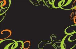 Abstractie van een backgraund van krullen Royalty-vrije Stock Foto's