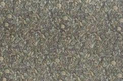 Abstractie voor de achtergrond donkere grijze stof met bloemenornamenten die van bosbladeren worden gemaakt Stock Foto