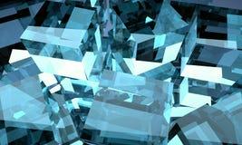 Abstractieglas Royalty-vrije Stock Afbeelding