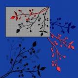 Abstractio nello stile giapponese illustrazione vettoriale