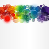 Abstraction. Abstract background from different elements Stock Images
