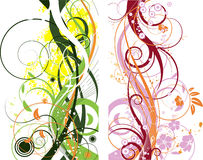Abstraction. Abstract floral background. A vector format is added. Suits well for a postcard or background Royalty Free Stock Photos
