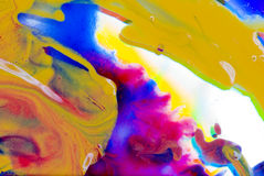 Abstraction. Diversity of colors in abstract way Royalty Free Stock Images