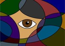 Abstraction illustration de vecteur