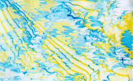 Abstraction. Abstract composition on paper using the manual marbling royalty free stock photography
