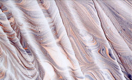 Abstraction. Abstract composition on paper using the manual marbling Stock Photo