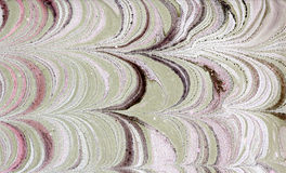 Abstraction. Abstract composition on paper using the manual marbling royalty free stock photo