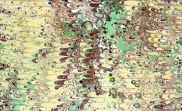 Abstraction. Abstract composition on paper using the manual marbling Royalty Free Stock Images