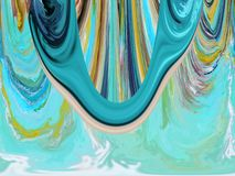 Abstraction with different colors royalty free stock photography