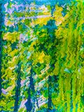 Abstraction. Abstract. Painting. Picture. Colorful. Colors Stock Photography
