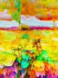 Abstraction. Abstract. Painting. Picture. Texture.. Textured. Uniqueness. Abstractions. Abstracts. Textures.Colorful. Colors. Graph. Graphic. Illustration Royalty Free Stock Images