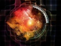 Abstraction abstraite de visualisation Image libre de droits