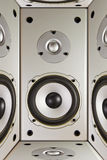 Abstraction of acoustics,load speaker. Abstraction of acoustics, load speaker Royalty Free Stock Photography